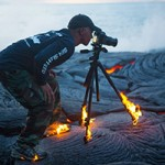 تصاویر گدازه های آتشفشانی
