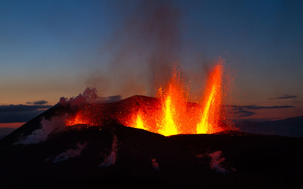 آتشفشان Eyjafjallajokull در ایسلند