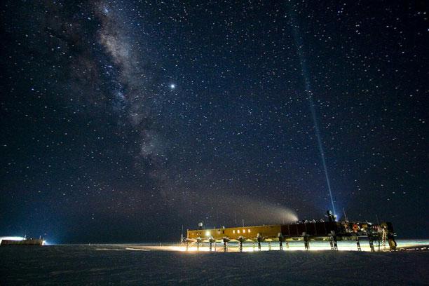 یک مرکز تحقیقاتی انگلیسی در قطب جنوب و قاره جنوبگان