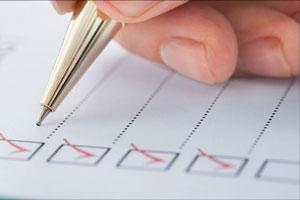 تنظیم فهرست موضوعات مورد بحث در مذاکره برای برنامه ریزی در مذاکره