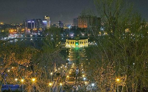 شهر تبریز در ایران گردشگری