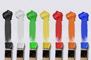 مدل کار تیمی بر اساس تقسیم کارهای رنگی در تیم