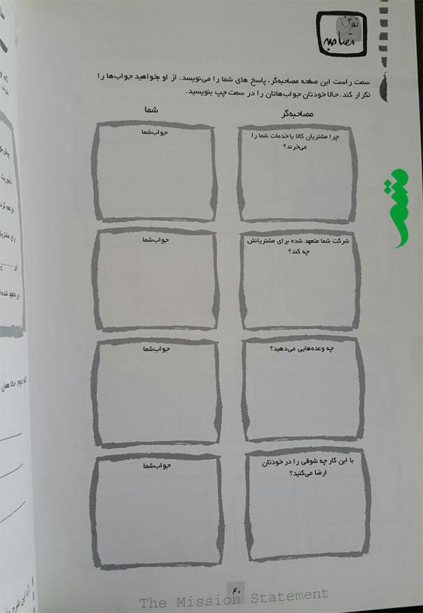 کتاب طرح تجاری یک صفحه ای نوشته جیم هوران