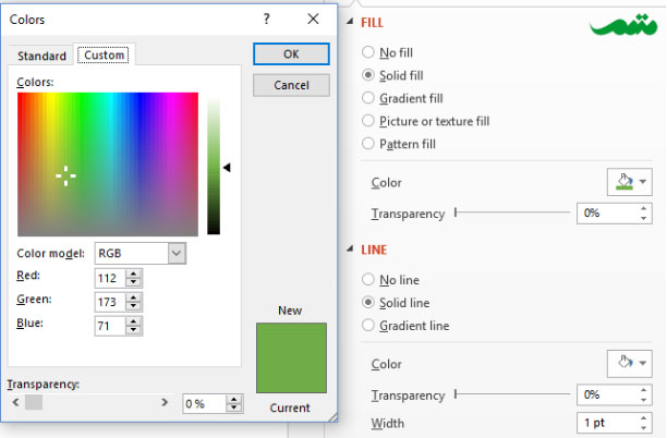 powerpoint-color-selection