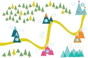 نمونه نقشه سفر مشتری برای بازاریابی محتوا