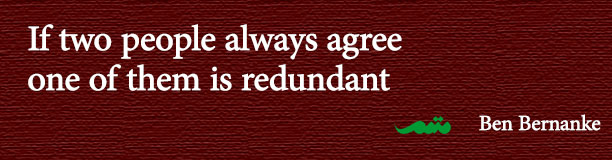 If two people always agree one of the is redundant