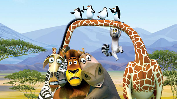 کارتون انیمیشن ماداگاسکار - تجربه سفر به جزیره ماداگاسکار