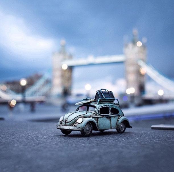 چرخ زدن اطراف تاور بریج لندن