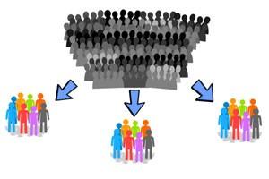 معیارهای تقسیم بندی بازار