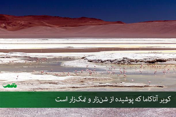 خشک ترین بیابانهای جهان - راهنمای سفر به شیلی