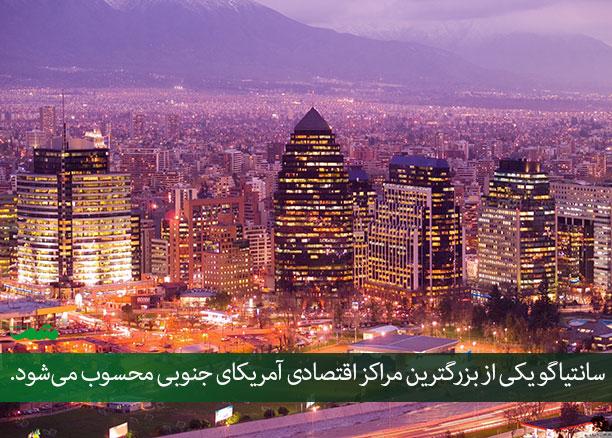 پایتخت کشور شیلی - جمعیت کشور شیلی - راهنمای سفر به شیلی