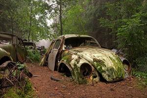 تصاویر ماشین های رها شده