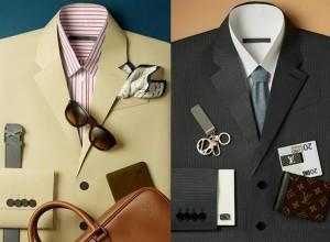 Translate Paper suits created for a series of images showcasing LV accessories. Photography: Lacey. 91/5000 لباس مقاله برای یک سری از تصاویر نمایشگاه لوازم جانبی LV ایجاد شده است