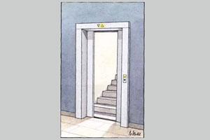 ما هم آسانسور داریم