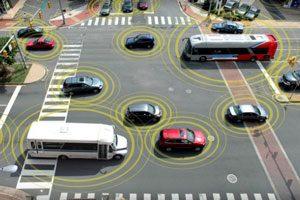 ارتباط الکترونیکی خودرو با خودرو