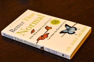 کتاب دیل آرچر - بهتر از نرمال - هر نوع تفاوت، بیماری نیست - معرفی کتابهای روانشناسی