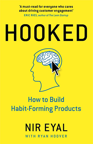 کتاب Hooked یا به قلاب افتاده - نوشته نیر ایال در مورد بازی سازی و گیمیفیکیشن