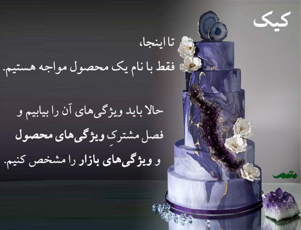 ایده پردازی برای کسب و کار تولید کیک