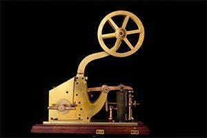 ساموئل مورس مخترع تلگراف الکتریکی
