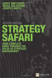 کتاب جنگل استراتژی نوشته هنری مینتزبرگ