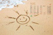 تقویم تیر ماه (مجموعه والپیپر – تصاویر پس زمینه برای دانلود)