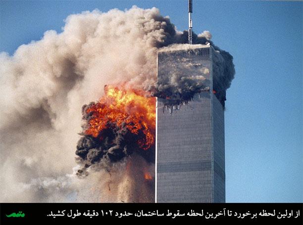 انتخاب دقیق کلمات و ارتباط آن با حادثه برج های دوقلوی آمریکا و حملات تروریستی یازدهم سپتامبر