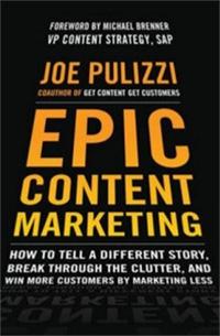 کتاب بازاریابی محتوا نوشته جو پولیتزی