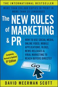 کتاب دیجیتال مارکتینگ دیوید اسکات - قوانین جدید بازاریابی در دوران دیجیتال