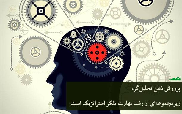 پرورش ذهن تحلیل گر - به عنوان زیرمجموعه ای از تفکر استراتژیک