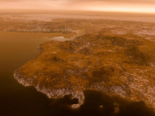 َعکس های ناسا از تایتان