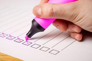 چک لیست تصمیم گیری برای مدیران