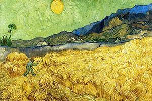 نقاشی دروگر اثر ونسان ون گوگ
