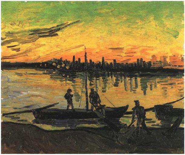 قایق های رود رون