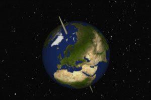 رابطه سرعت دورانی زمین و زلزله