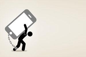اعتیاد به گوشی موبایل