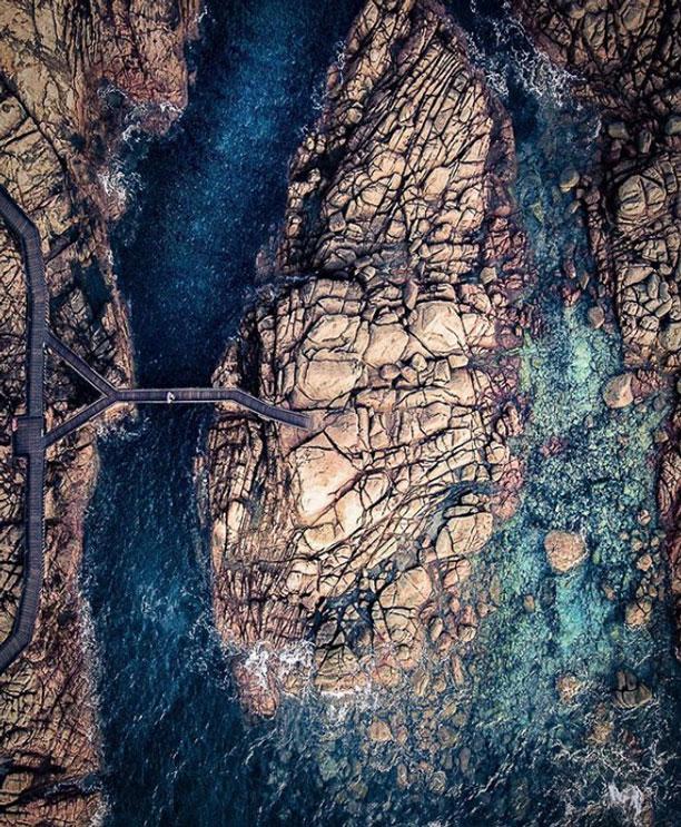 تصویر زمین از آسمان - استرالیا