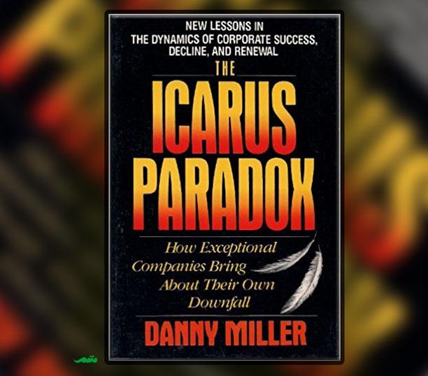 طرح روی جلد و خلاصه کتاب پارادوکس ایکاروس - نوشته دنی میلر