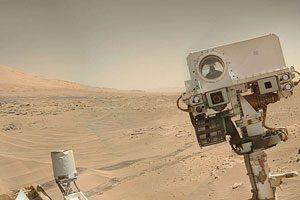 مریخ نورد کنجکاوی - سلفی فرستاده شده از مریخ