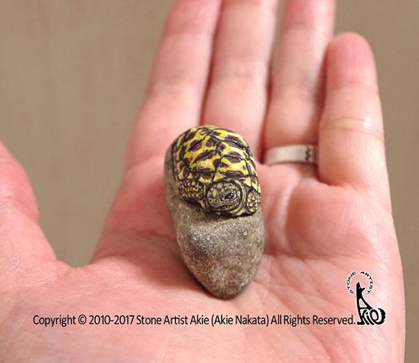 نمونه کاردستی با سنگ