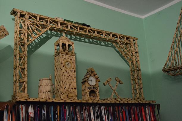 خانه چوب کبریتی - ماکت کشتی با چوب کبریت - طرحهای چوب کبریتی
