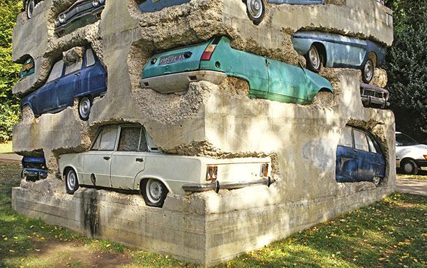 سازهای عجیب و خلاقانه از ماشینهای قدیمی