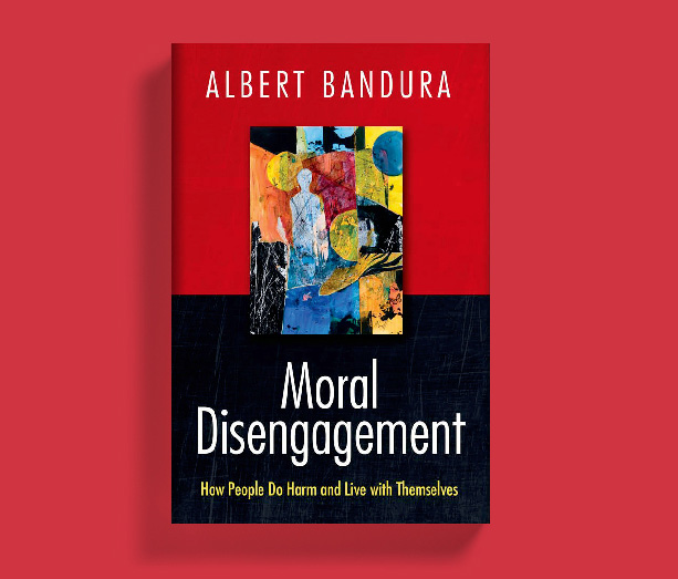 Moral Disengagement - Albert Bandura - Book Cover