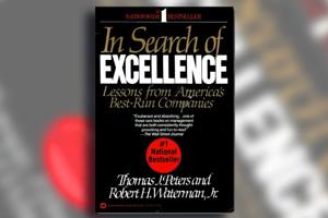 کتاب در جستجوی برتری - ویژگی های شرکتهای موفق