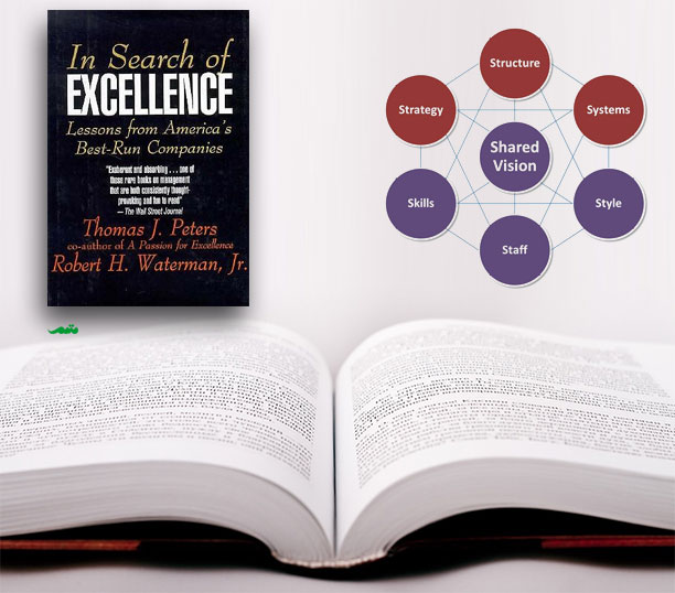 کتاب در جستجوی برتری - در جستجوی تعالی - تام پیترز (توماس پیترز)