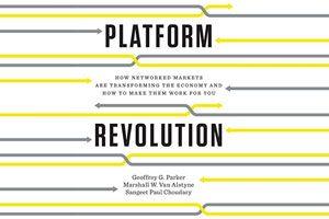 کتاب انقلاب پلتفرم نوشته جفری پارکر