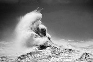عکس موج دریا