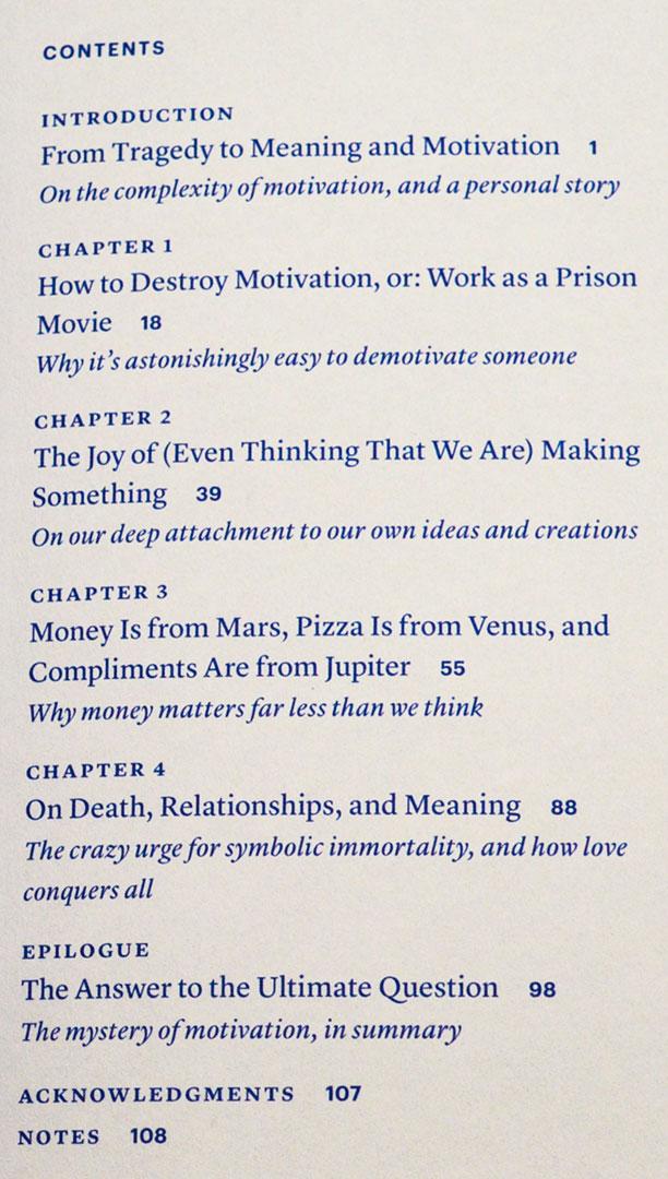 خلاصه مطالب کتاب انگیزش دن اریلی