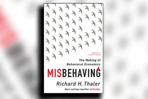 کتاب کج رفتاری - ریچارد تیلر - Misbehaving - Richard Thaler