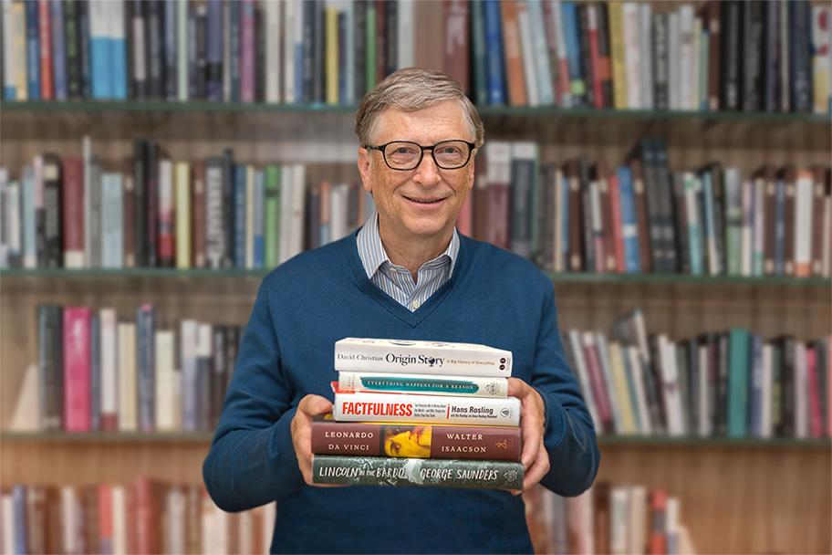 بیل گیتس مطالعه کتاب واقع گرایی را توصیه میکند