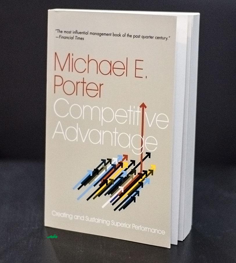 زنجیره ارزش مایکل پورتر در کتاب او با عنوان Competitive Advantage یا مزیت رقابتی مطرح شده است